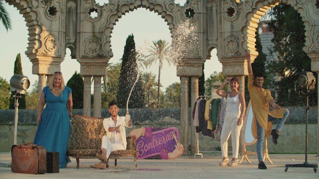 Los Contreras, nueva dinastía en la cuarta temporada de 'Los gipsy kings'.