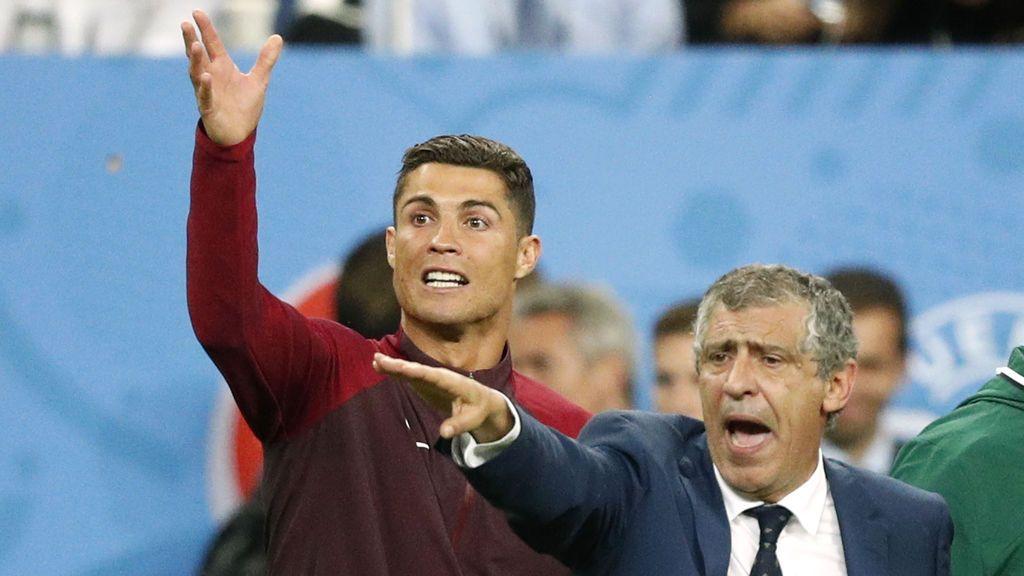 """Fernando Santos: """"Portugal no está entre las cinco favoritas"""""""