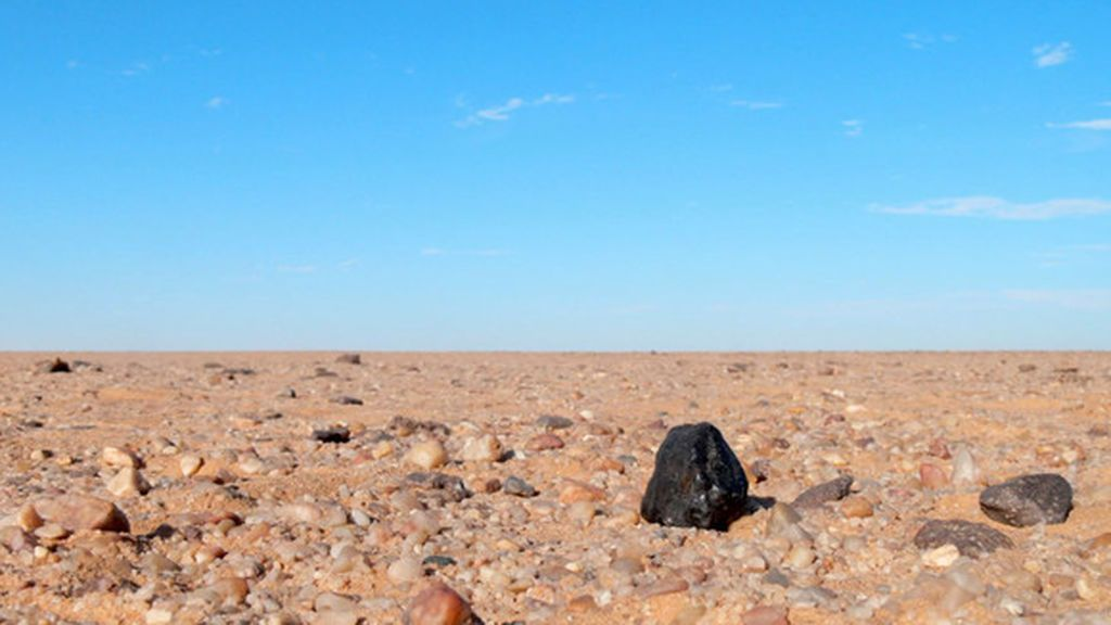 Un meteorito esconde diamantes de un planeta perdido