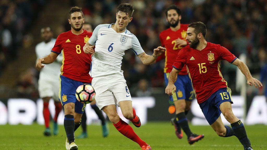 España jugará contra Inglaterra en Wembley después del Mundial