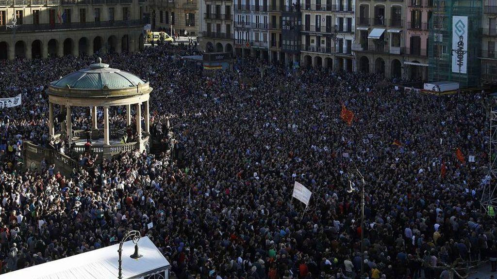 """El alcalde de Alsasua admite haber apoyado más a los acusados por la """"desproporción judicial"""""""