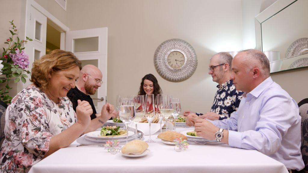 Concursantes de 'Ven a cenar conmigo', en la semana del 23 de abril.