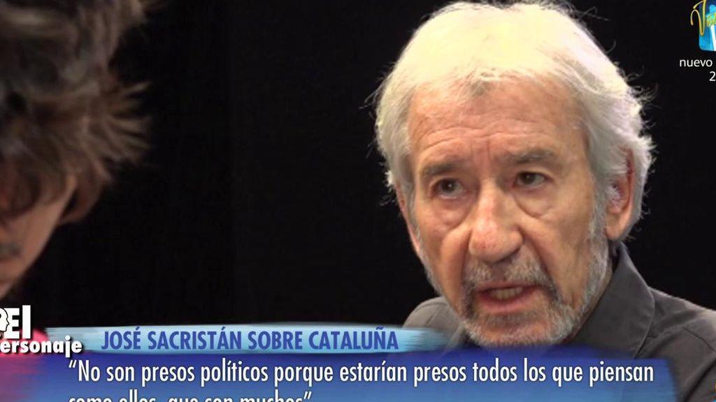 """José Sacristán: """"Podemos no ha perdido mi voto pero el de mi mujer sí"""""""
