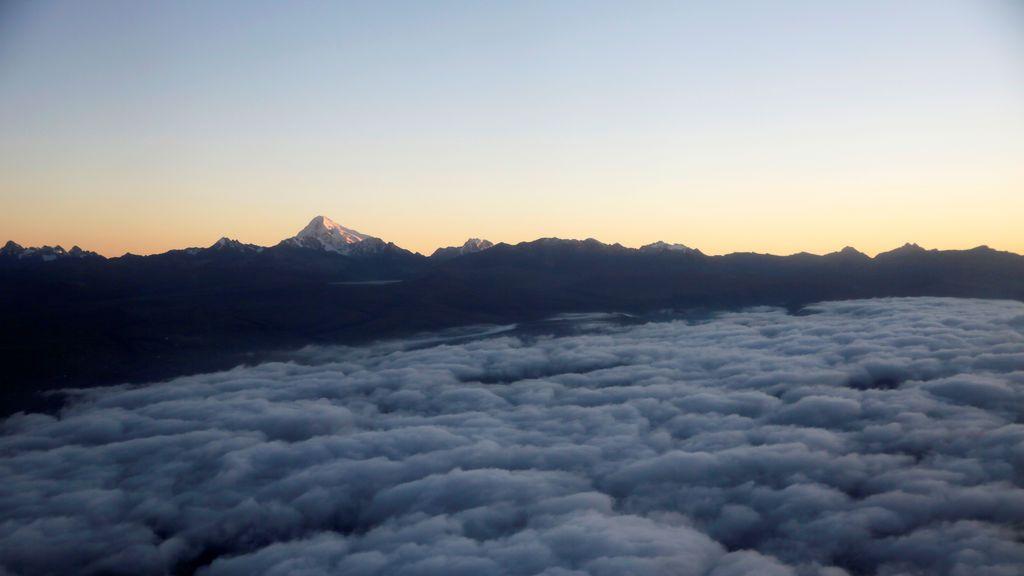 Bolivia a vista de pájaro