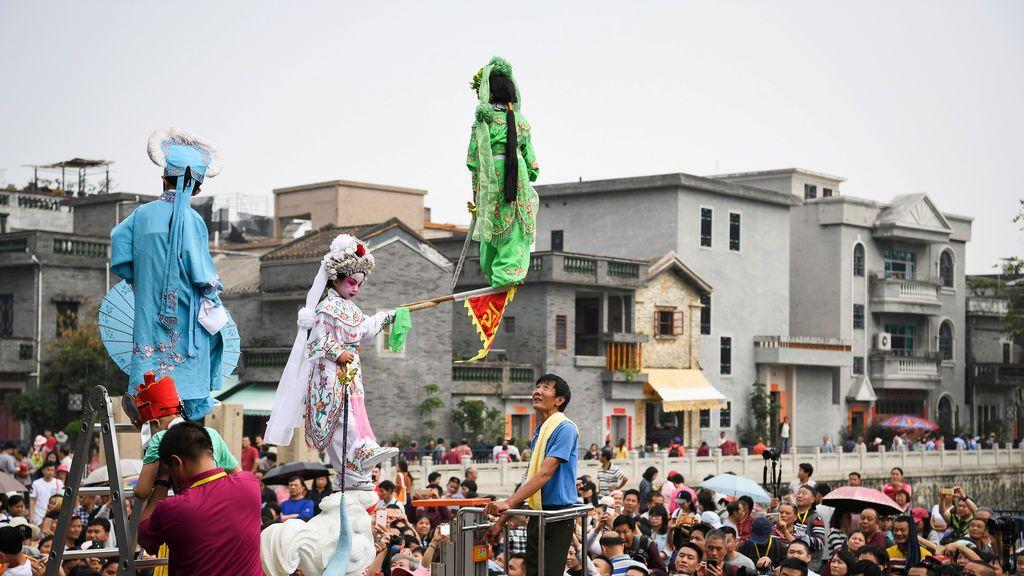 Espectáculo popular chino
