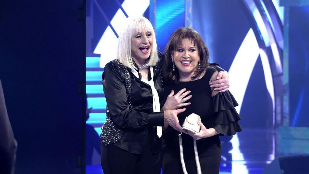 "Loles León se emociona al sorprender a Raffaella Carrà: ""De ella he aprendido lo mejor"""
