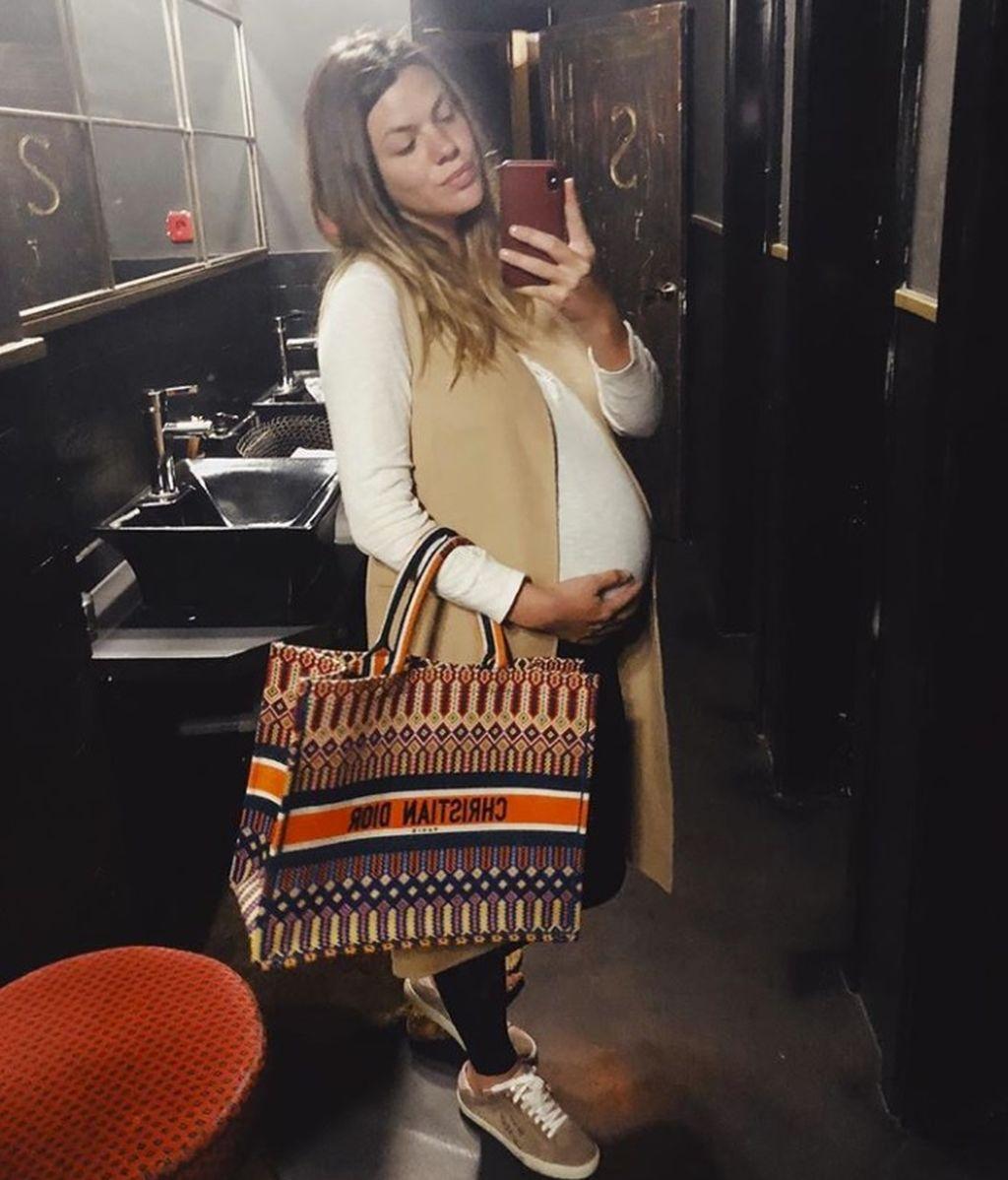 Comienza la cuenta atrás de Laura Matamoros: ayer salió de cuentas