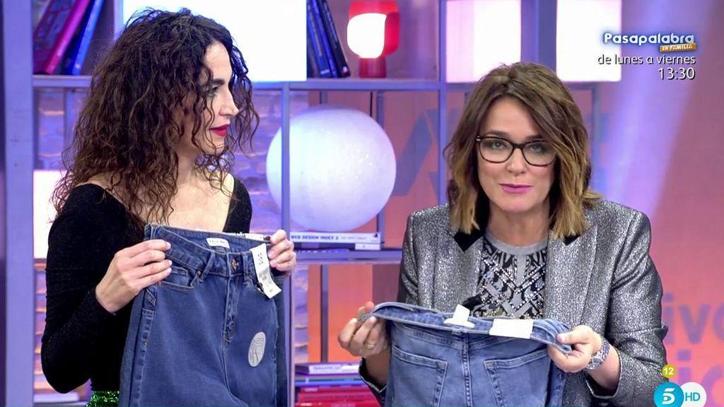 ¡Toma nota! El truco de Cristina Rodríguez y Toñi Moreno para saber tu talla de pantalones
