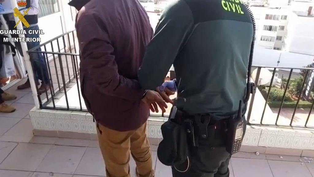 Detenidas en Ibiza once personas, miembros de una red de tráfico de drogas