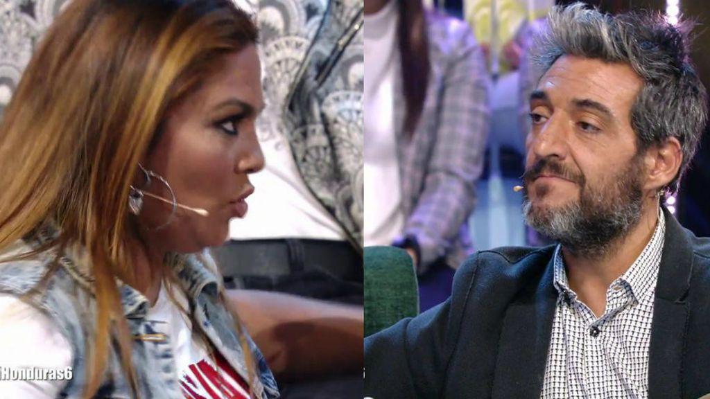 """Saray sigue lanzando dardos a Fernando': """"Lo único que has hecho en la isla ha sido coquetear con María Jesús"""""""