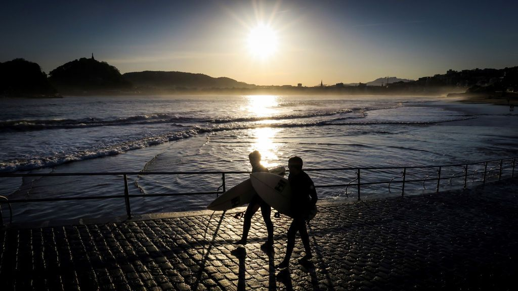 Suben las temperaturas en el interior peninsular y bajan en el litoral cantábrico