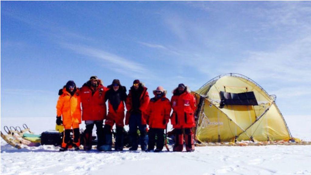 Súbete al trineo de viento: primera campaña antártica para conseguir nuevos logros