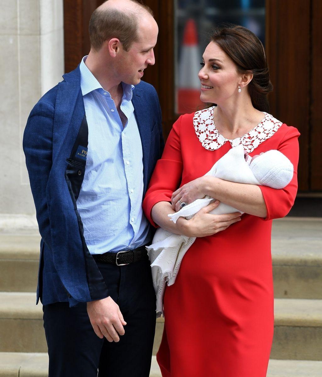 Kate Middleton ha abandonado el hospital tras su tercer parto