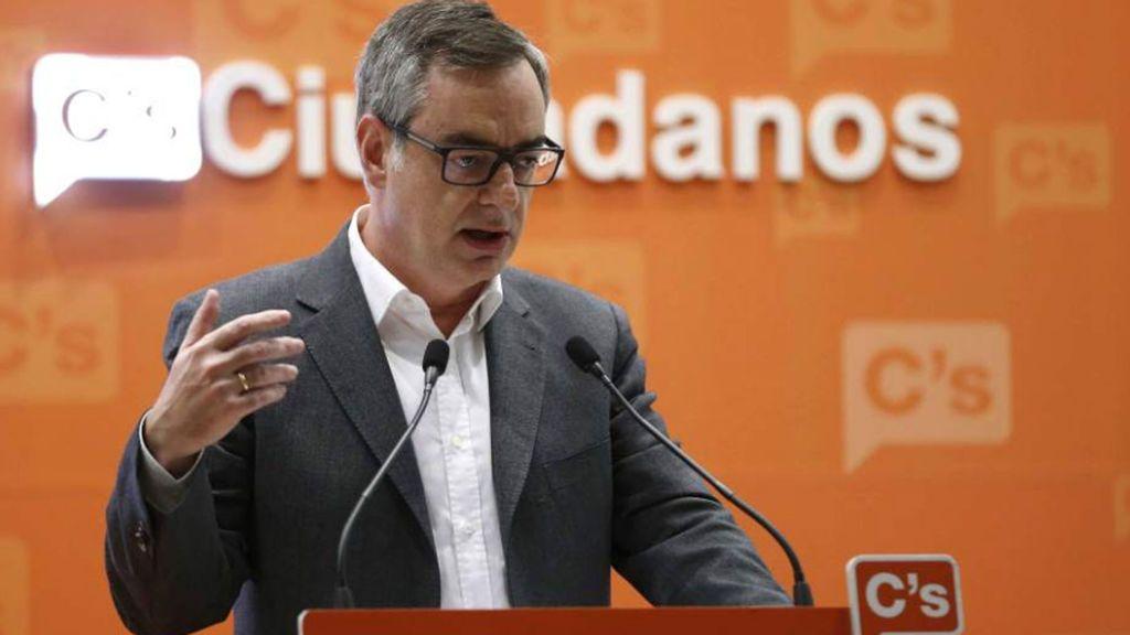 """Cs no apoyará los PGE si el Gobierno cede a Euskadi la gestión de la Seguridad Social y da """"privilegios"""" a etarras"""