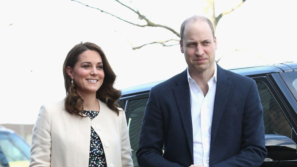 La duquesa de Cambridge a pocas horas de dar a luz a su tercer hijo