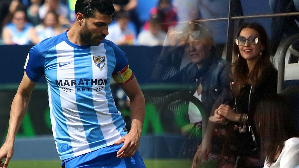 Paula Echevarría ya es wag oficial: se estrena en las gradas del partido de Miguel Torres