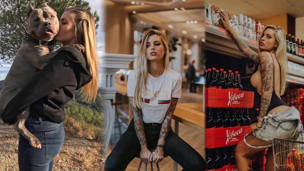 Chica portada y apasionada de los tatuajes: Así es Mireia Pairo, el 'veneno' de Adrián Rodríguez