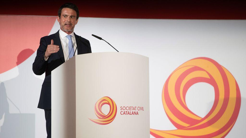 "Manuel Valls abre la puerta a volver a Barcelona ante la ""expectativa"" creada"