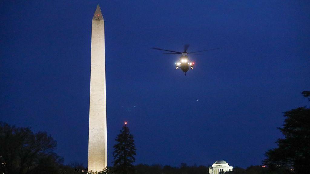 Helicóptero de la casa blanca
