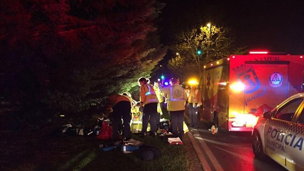 Hallan el coche que atropelló mortalmente a una mujer en Madrid pero siguen buscando al conductor