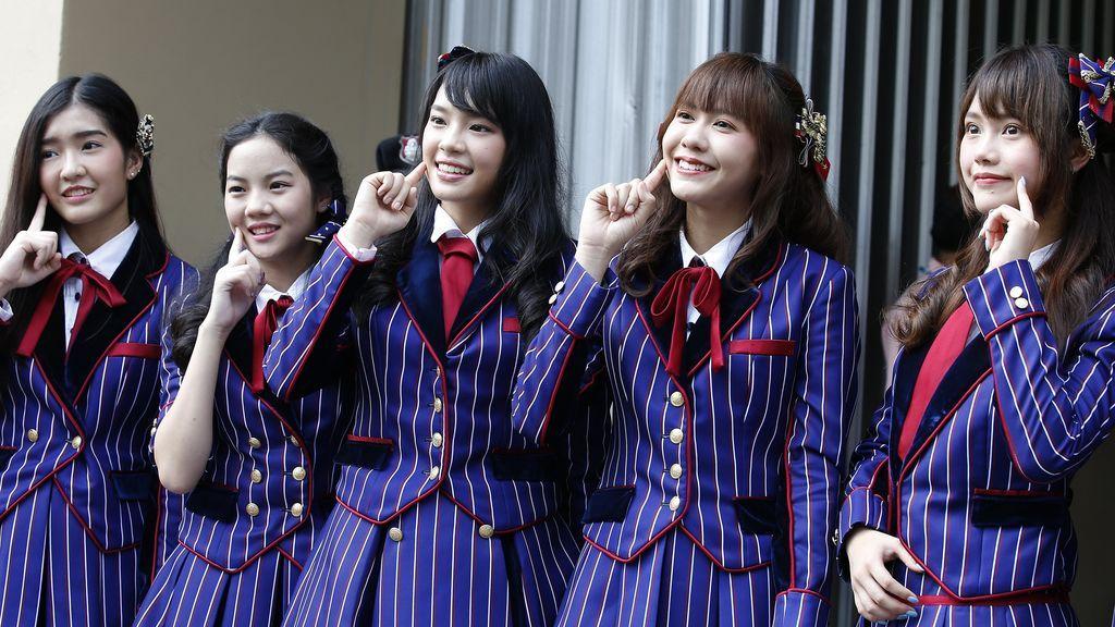 El grupomusical  tailandés BNK48