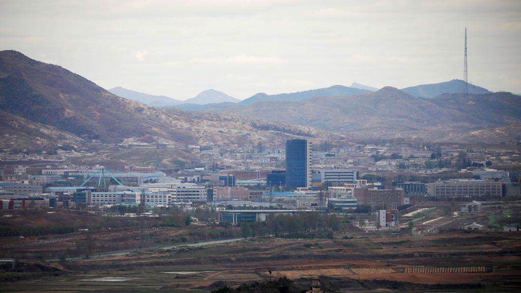 Zona desmilitarizada que separa las dos Coreas