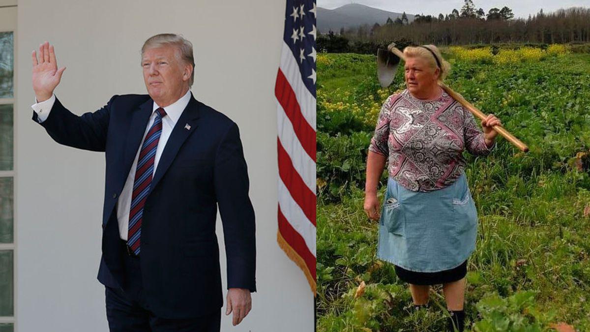 La gallega que se ha hecho famosa gracias a Donald Trump