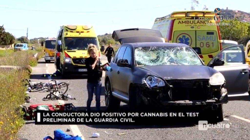 La conductora que mató a un ciclista en Mallorca, y dio positivo en drogas, sale de prisión  tras pagar 10.000 euros