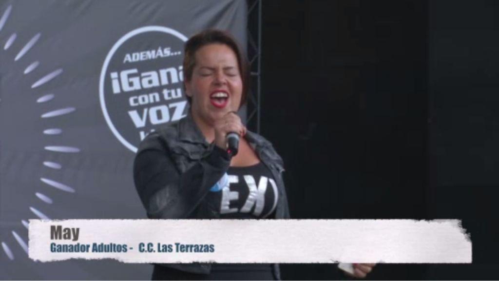 May triunfa como ganadora adultos de 'Gana con tu voz' en Gran Canaria