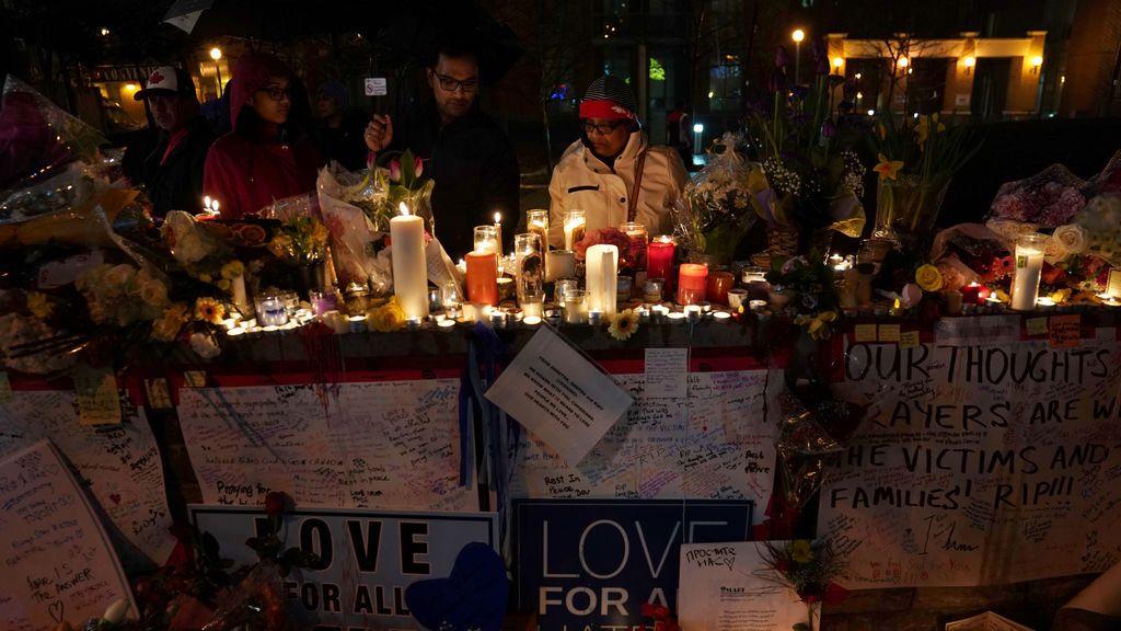Vigilia por las víctimas del atropello de Toronto