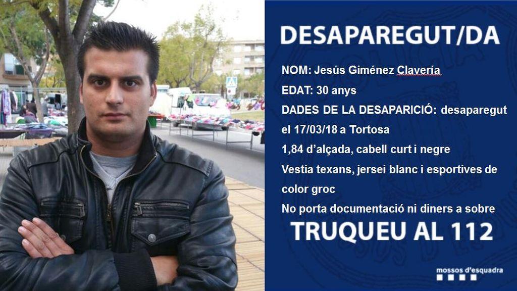 Hallan muerto a un hombre que desapareció en marzo en Tortosa (Tarragona)