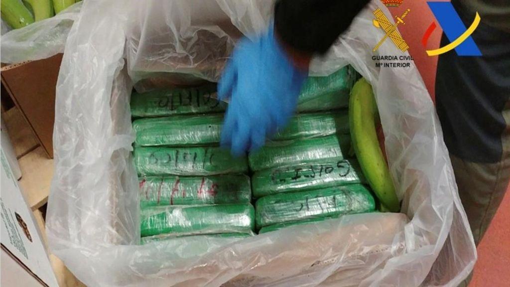 Decomisan en Algeciras el mayor alijo de cocaína incautado en un contenedor en Europa