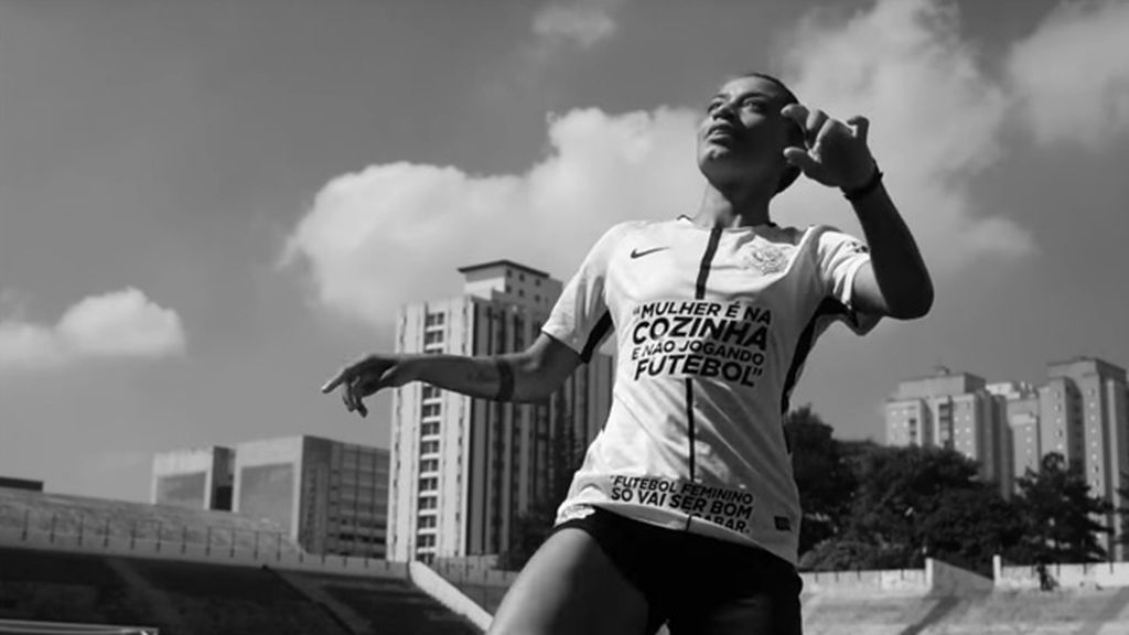La campaña del Corinthians Femenino por la que lucirá frases machistas en sus camisetas