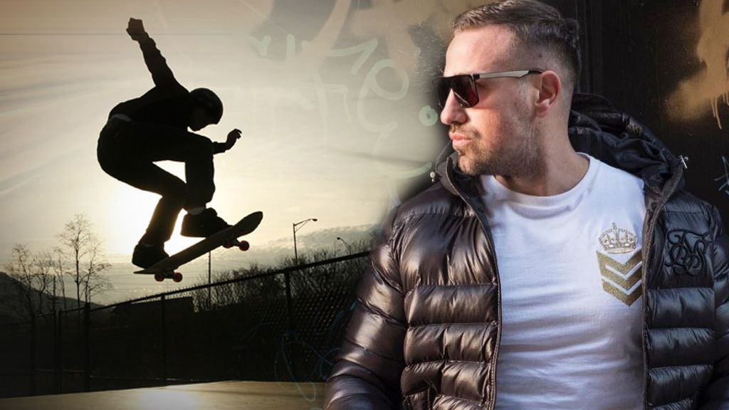 Rafa Mora da el salto al mundo del 'skate': el valenciano presenta el monopatín más 'tete' inspirado en él