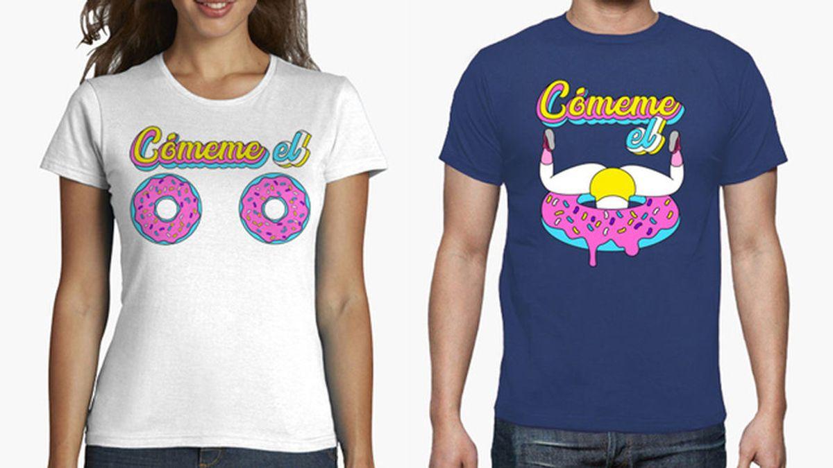 'Cómeme el donut' el tema del momento ¡y la camiseta del verano!