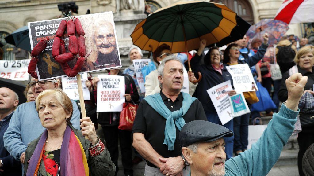 PP y PNV firman un acuerdo para subir las pensiones un 1,6%