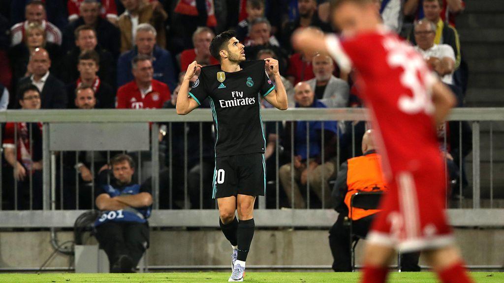 El Madrid vence al Bayern  (1-2) y apunta a su tercera final de Champions seguida