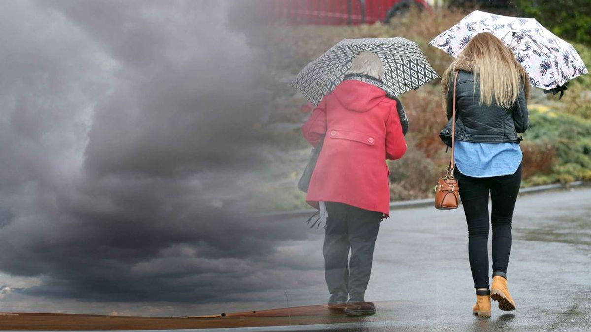 Malas noticias: el domingo será el día más lluvioso del puente