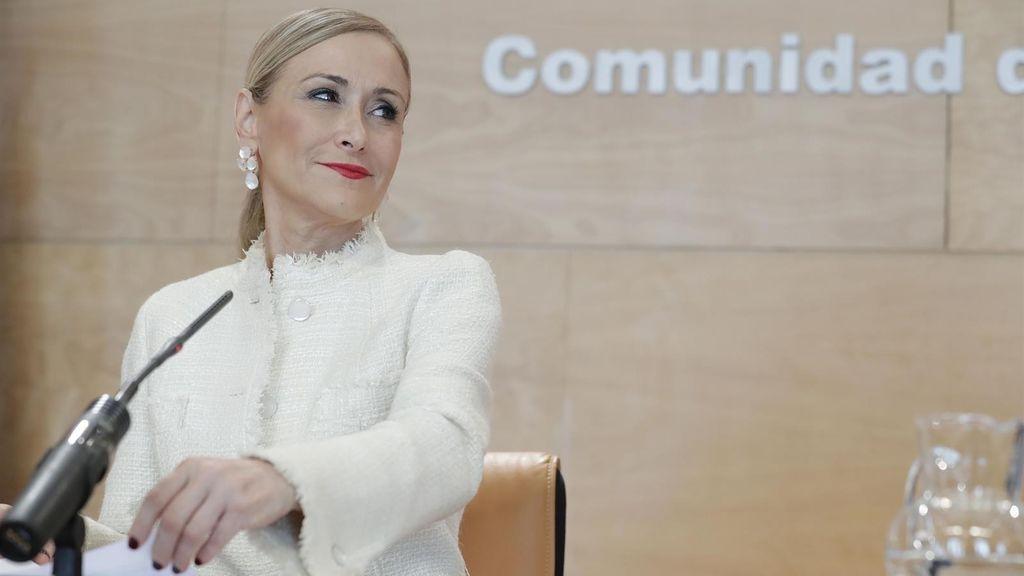 "Génova ve ""insostenible"" la situación de Cristina Cifuentes"