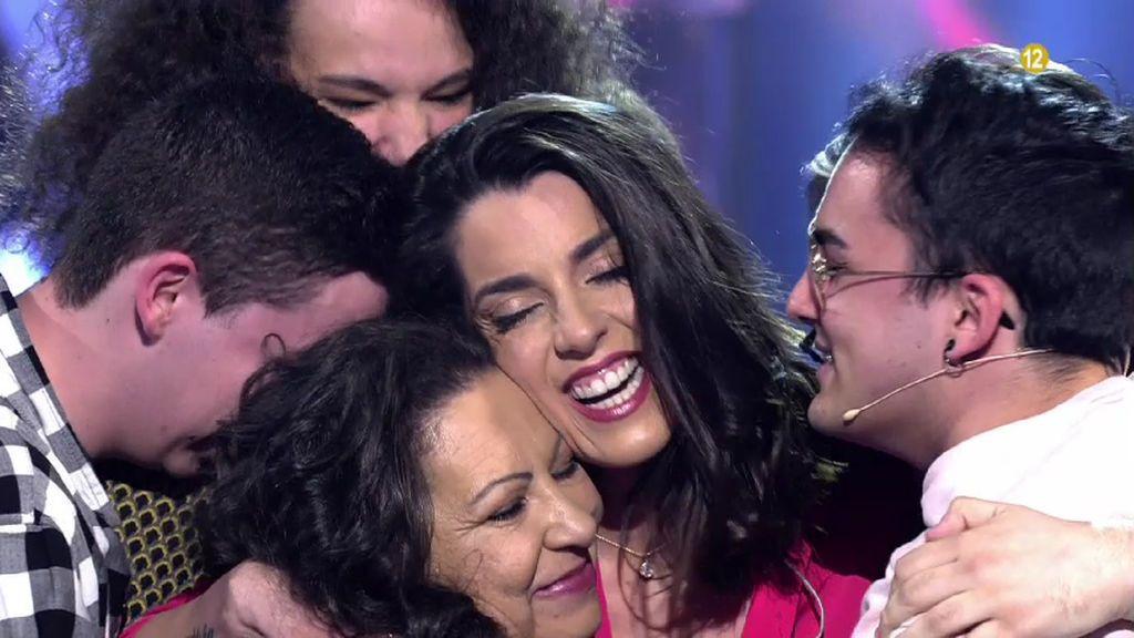 """Andy y Lucas, Almudena Cid y Ruth Lorenzo, en un 'Volverte a ver' """"lleno de sorpresas"""""""
