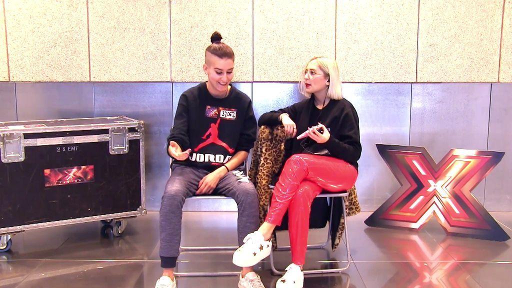 Exclusivo: Rocío improvisa un rap con las palabras más raras en su 'Xtra Reto'