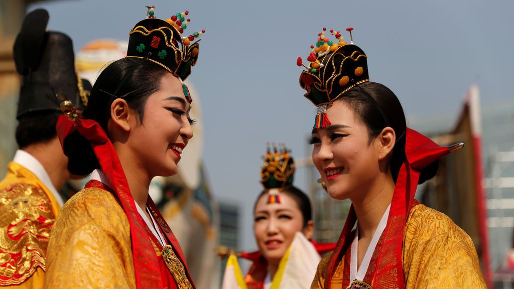 Danzas en la cumbre intercoreana