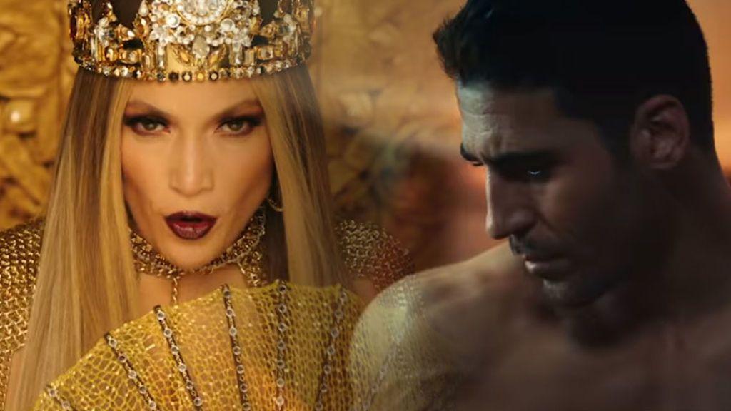 """Miguel Ángel Silvestre y JLo, historia de un 'latin love' de videoclip: """"Se me cae la baba"""""""