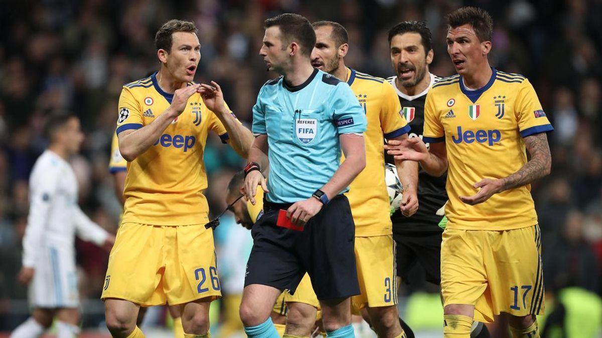 El 'premio' que ha recibido el árbitro que pitó el penalti en el último Real Madrid - Juventus