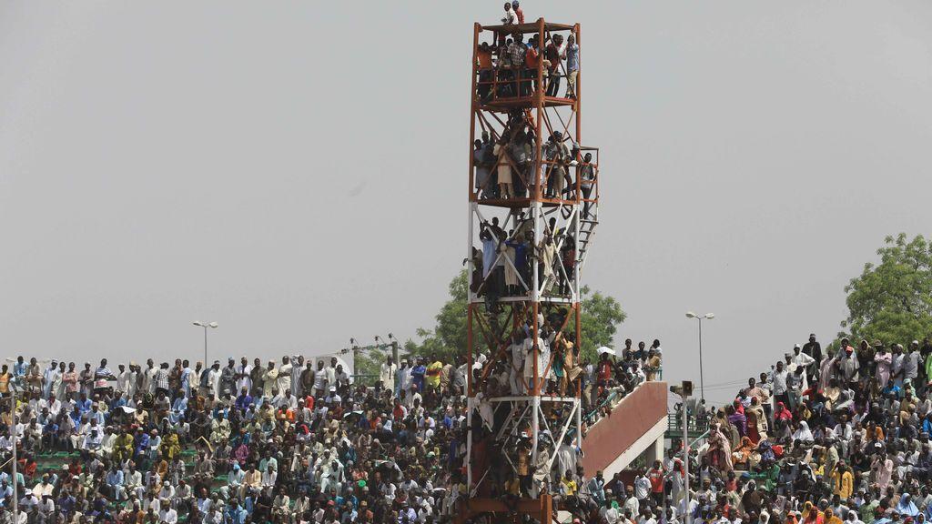 Gran expectación ante la visita del presidente de  Nigeria