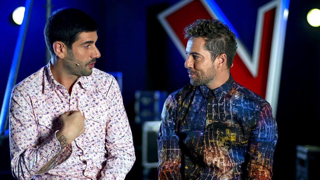 David Bisbal revoluciona el backstage de 'El Último asalto'