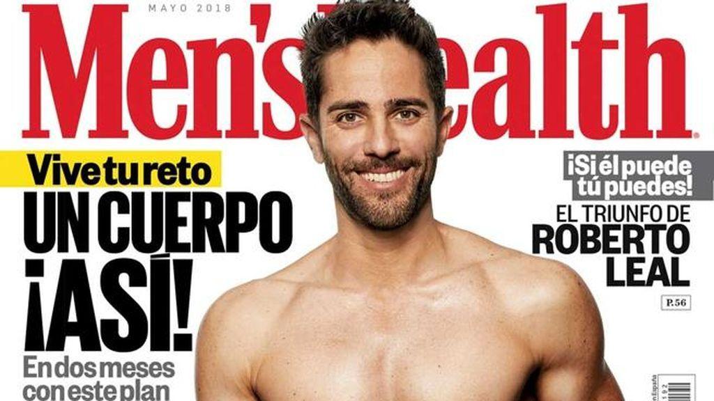 """Roberto Leal comparte su foto de 'chico de portada' más musculado: """"Feliz por los resultados"""""""