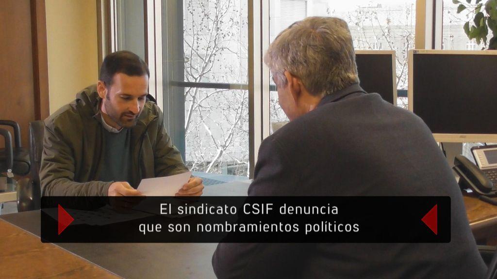 'En el punto de mira' investiga las contrataciones irregulares en la sanidad pública.