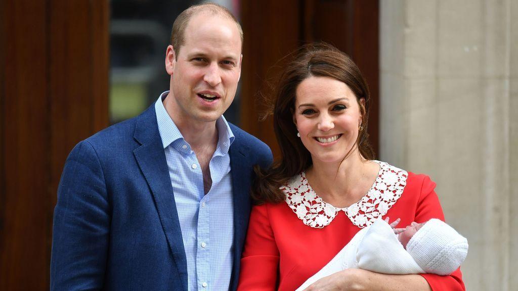 Los Duques de Cambridge llaman Luis a su tercer hijo