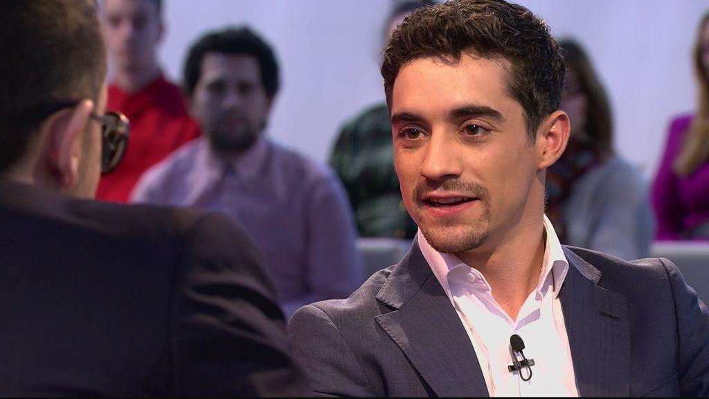 """Javier Fernández, sobre sus comienzos en el patinaje: """"Me decían que hacía un deporte de chicas"""""""